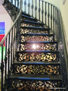 the elms-cast iron staircase