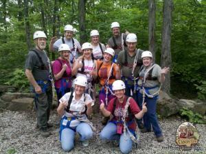 Buffalo River Canopy Tour, zip line