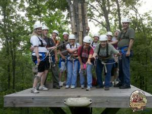 Buffalo River Canopy Tour, zipline