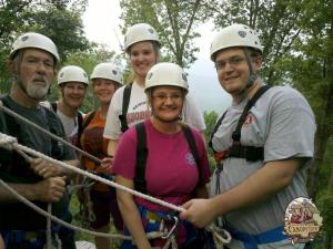 Buffalo River Canopy Tour, zipline