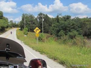 push mountain rd., motorcycle