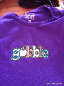 gobble tshirt