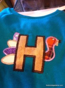 H turkey shirt