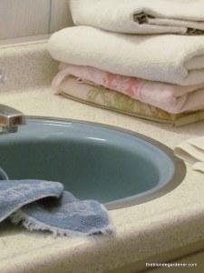 1970's Master Bath Makeover  https://theblondegardener.com/2015/03/15/70s-house-master-bath-makeover/