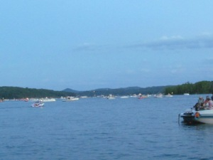 table rock lake 4th of july