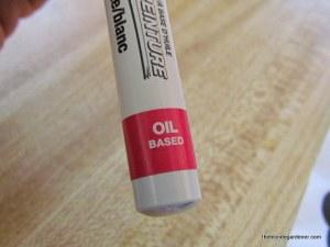 vanilla extract lable pen