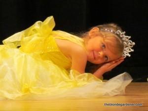 hallie ballerina recital