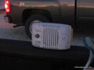 drive in movie theatre speaker