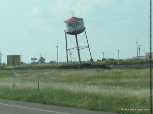 leaning tower of Britton route 66