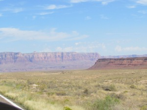 leaving the grand canyon