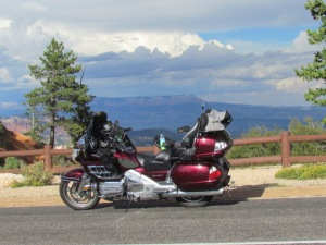 bryce canyon motorcycle